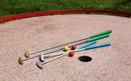 Mini golf Stock Photo