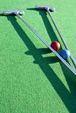 Mini golf course royalty free stock images