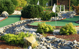 Free Mini Golf Course Stock Image - 5613101