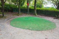 Mini golf course Royalty Free Stock Photos