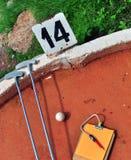 Mini golf Stock Photo