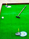 Mini golf field Stock Photography