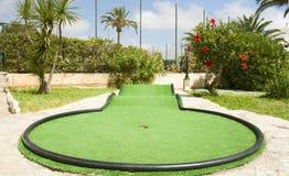 Mini golf Stock Photography