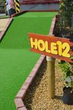 Mini golf Stock Photography