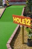 Mini golf. Hole 12, on a mini golf course Stock Photography