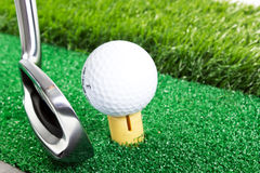 Mini golf Royalty Free Stock Images