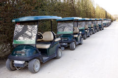 Mini- golfbil Royaltyfri Foto