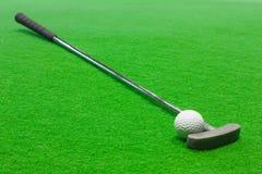 Mini golfe Foto de Stock