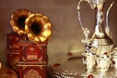 Mini gramofon Zdjęcie Stock