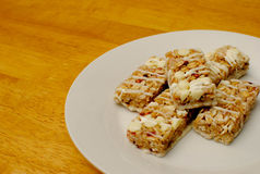 Mini Granola Bars Stock Photography
