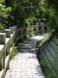 Mini Great Wall in Cheung Chau Island Stock Photo