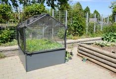 Mini Greenhouse Royalty Free Stock Photography
