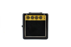 Mini Guitar amplifier Royalty Free Stock Image