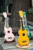 Mini guitarra Fotos de archivo libres de regalías