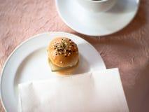 Mini- hamburgare Arkivfoton