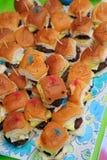Mini Hamburger Imagem de Stock