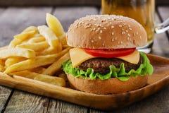 Mini hamburger Stock Photography