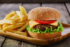 Mini hamburger Royalty Free Stock Photo