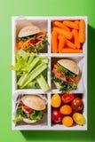 Mini hamburgueres deliciosos Imagem de Stock