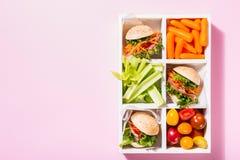 Mini hamburgueres deliciosos Imagem de Stock Royalty Free