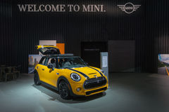 Mini Hardtop on display Royalty Free Stock Image