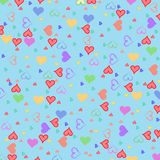 Mini hearts Royalty Free Stock Image