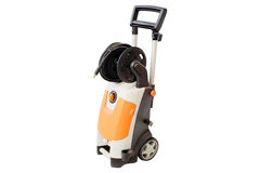 Mini high pressure washer Royalty Free Stock Photo