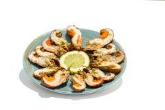 Mini homards Photographie stock