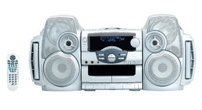 Mini home theater isolated  Stock Photography