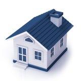 Mini House-bovenkant Stock Afbeelding