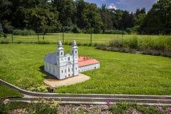 Mini Hungary, église de dévotion et monastère, ³ de CsÃksomlyà photos libres de droits