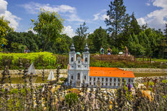 Mini Hungary, Abtei von Tihany Stockfotografie