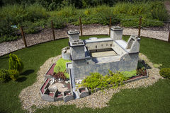 Mini Hungary, Castle of Diósgyőr Royalty Free Stock Images