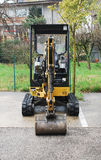Mini Hydraulic Excavator Lizenzfreie Stockfotos