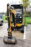 Mini Hydraulic Excavator Royalty Free Stock Photos