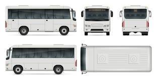 Mini illustration de vecteur d'autobus Photographie stock libre de droits