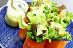 Mini insalata Fotografie Stock Libere da Diritti