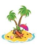 Mini Island Royalty Free Stock Photo