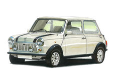 Mini Italian Job Special Edition Stock Images