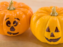 Mini Jack-o-Lanterns Stock Photography