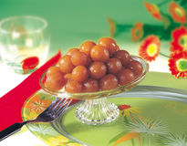 Mini Jamuns Royalty Free Stock Photos