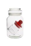 Mini jar inside Stock Images