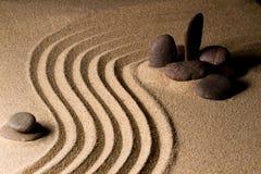 Mini jardin de roche Photos libres de droits