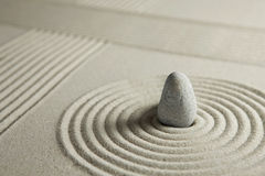 Mini jardin de zen images libres de droits
