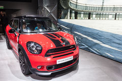 Mini John Cooper Works bij IAA 2015 Stock Foto's