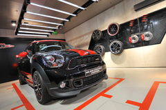 Mini John Cooper Works Countryman on display in BMW Welt Stock Images