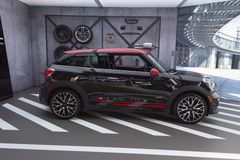 Mini John Cooper Works Royalty Free Stock Photo
