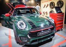 MINI John Cooper Works, Motor Show Geneve 2015. Stock Photos