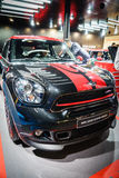 MINI John Cooper Works, Motor Show Geneve 2015. Royalty Free Stock Images