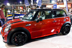 Mini John Cooper Works - Side - MPH Royalty Free Stock Images